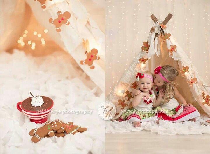 Christmas photoshoot