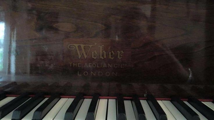 Pianoforte a mezza coda Weber & sons