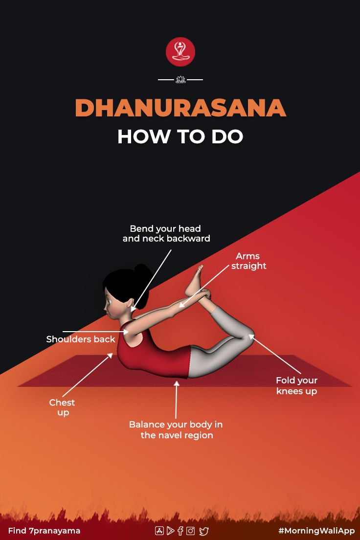 Dhanurasana Steps Benefits And Precautions