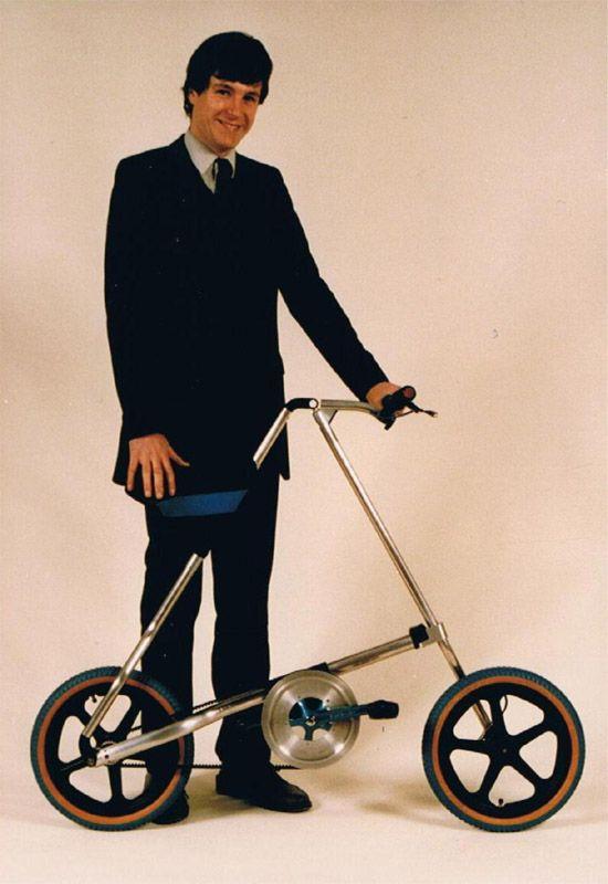 Strida folding bike by Mark Saunders