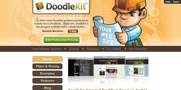 Doodlekit Free Website Builder - Creator - Maker