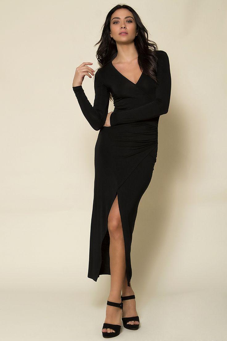 Maxi Wrap Φόρεμα - ΡΟΥΧΑ -> Φορέματα & Φόρμες | Made of Grace