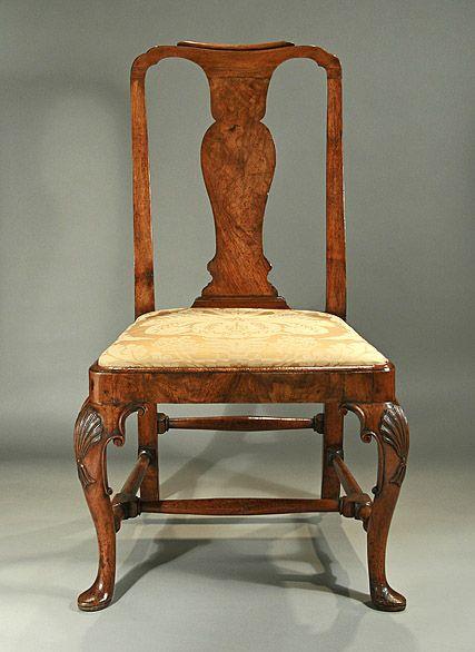 Queen Anne Chair History Late Queen Anne...