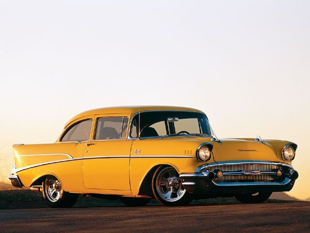 1957 Chevy Bel Air- rainmaker looked like this at one time