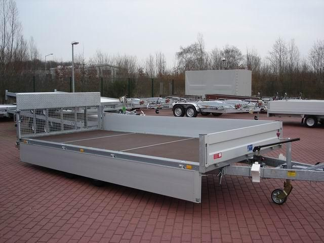 Unsinn Fz-Technik Hochlader,Ladefl.kippbar, 204x426 3,0t, Anhänger Pritsche offen in Winsen Luhe, neufahrzeug kaufen bei AutoScout24 Trucks