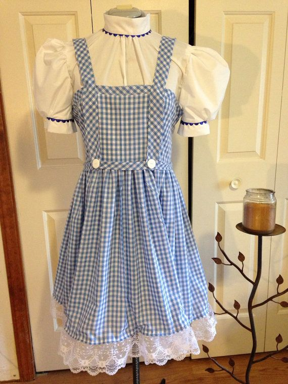 Wizard of Oz Dorothy Outfit for Little Girls by BrownsThreadWorks