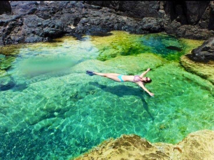 Piscina de agua salada playa tortuga isla de culebrita - Piscina agua salada ...