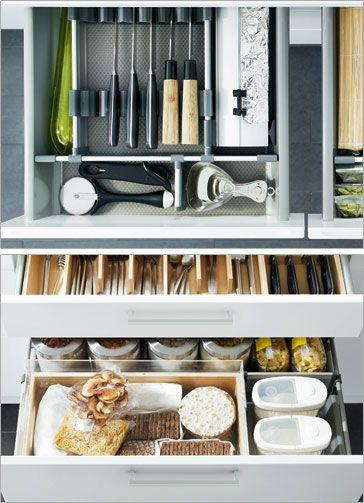 1000 ideas about ikea kitchen organization on