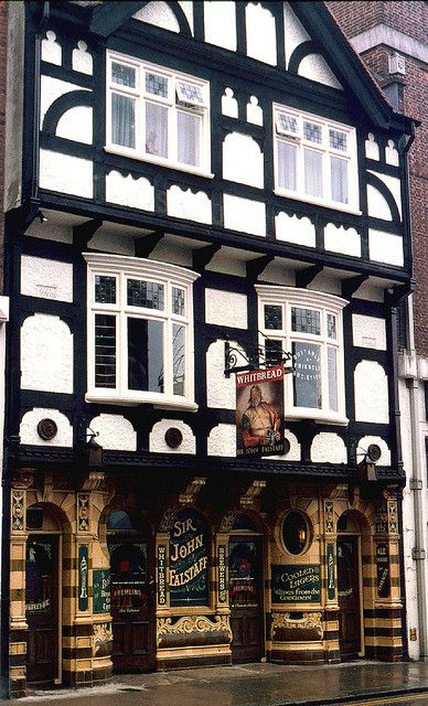 The Sir John Falstaff pub in Dover, Kent