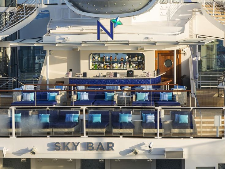 Sky Bar (Deck 14): This bar serves the main outdoor pool. It gets busy on sunny days, but staff pushing trolleys filled with refreshing alcoholic and non-alcoholic beverages also patrol the indoor and outdoor pool deck, making it easy to quench your thirst.