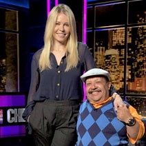 Chelsea & Chuy plus a host of funny comedians and stars!  Chelsea Lately...my late-night indulgence