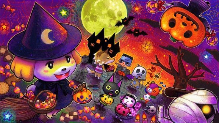Animal Crossing Halloween...adorable!