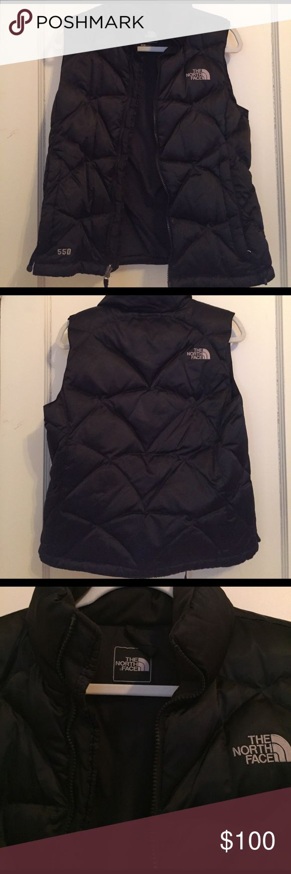 Size small North Face down vest in black. Hardly used North Face down vest in black. Great for fall weather and football games! It's a size small. North Face Jackets & Coats Vests