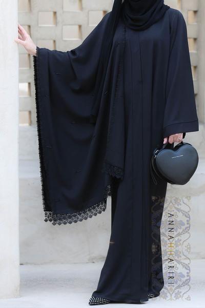 A Cover Up Abaya Annah Hariri Modest Wear Pinterest Abayas Hijab