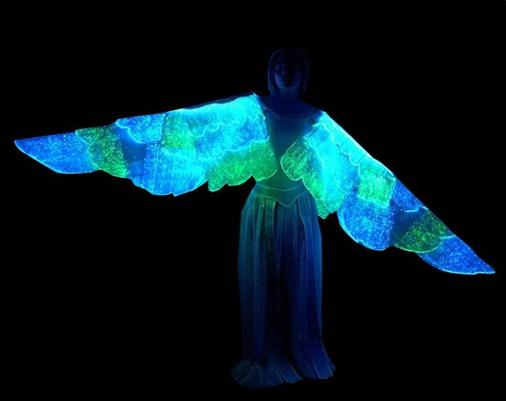The lumi-wings from Luminight USA! The USA distributor for LUMINEX(R) material. Customized to your size and liking. You get to choose the fabric color and the light color! Order 3 or more and you can make payments for up to 6 months! Go to www.LumiNightusa.com.