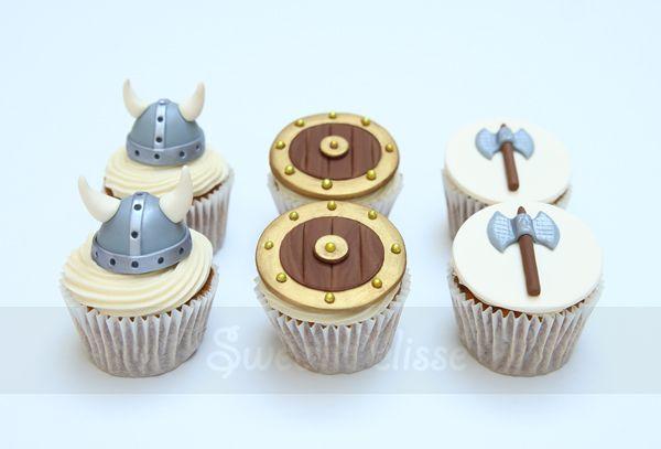 Viking Cupcakes                                                                                                                                                                                 More