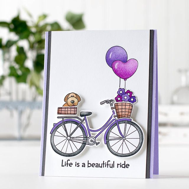 RESERVE Simon Says Stamps and Dies BEAUTIFUL RIDE Set252BR My Favorite Preview Image
