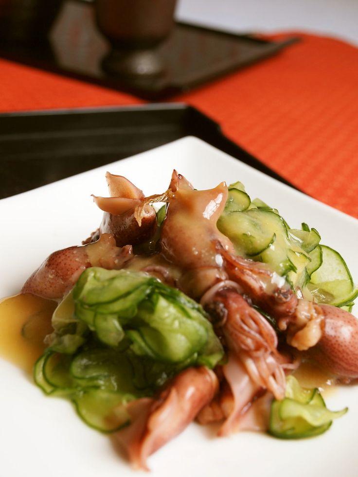 簡単♪ホタルイカと胡瓜の酢味噌和え