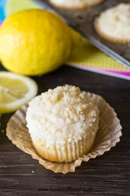 lemon crumb muffins from Julie and Maddie of Tastes of Lizzy T