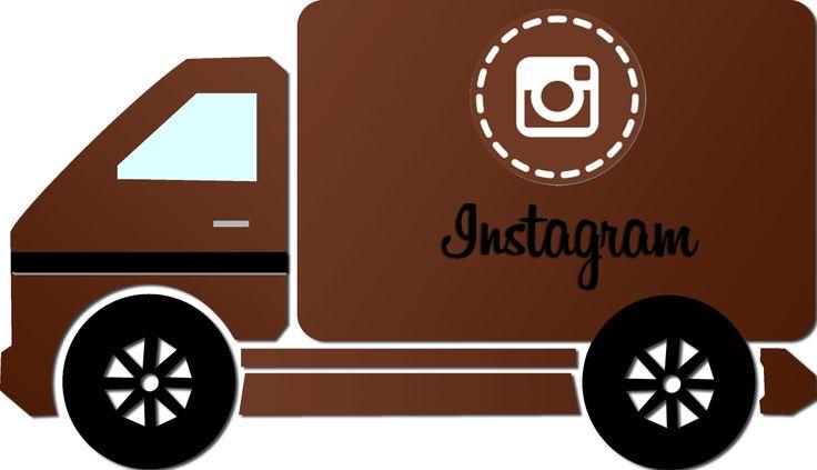 Caminhão Instagram - Instagram truck