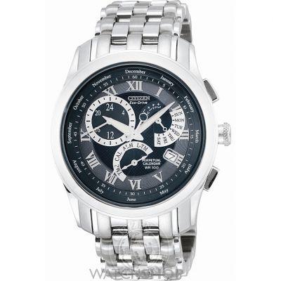 Mens Citizen Calibre 8700 Alarm Eco-Drive Watch BL8000-54L