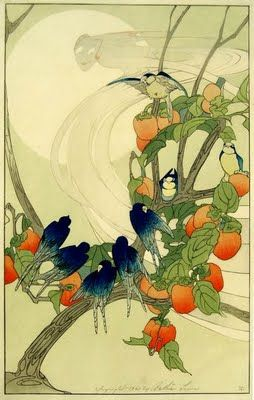 Bertha Boynton Lum (American), The South Wind, woodblock print, c. 1920.