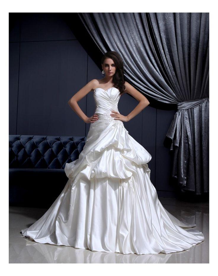 Tante Increspature Impero Vestiti da sposa in Ventita Online