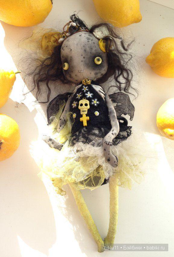 Мексиканская летучая мышка от Алены Жиренкиной, цена снижена на 1 день! / Авторские и коллекционные игрушки / Шопик. Продать купить куклу / Бэйбики. Куклы фото. Одежда для кукол
