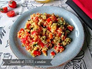 insalata di quinoa alla verdure La cucina di ASI Gluten free 2015