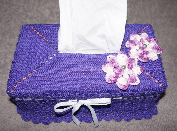Mejores 11 imágenes de Crocheted tissue box covers en Pinterest ...