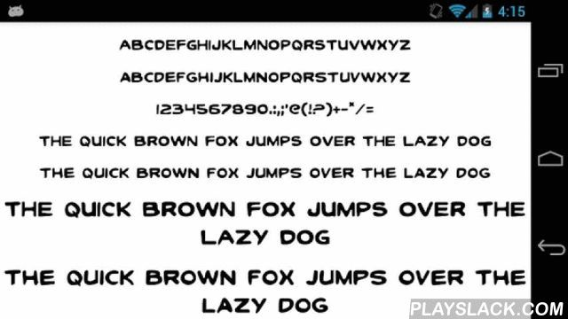 Fonts For FlipFont 50 Clean  Android App - playslack.com ,  This Font Pack contains 50 free clean fonts for Samsung Galaxy and HTC Sense 6.0 devices designed to be compatible with Monotype Imaging Inc.'s FlipFont® program and will install new free fonts on your Samsung Galaxy or HTC that are compatible with the FlipFont® program on your phone. NOTE: This App is NOT sponsored, endorsed, or affiliated with Monotype Imaging, Inc, the owner of the FlipFont trademark and technology.Please enjoy…