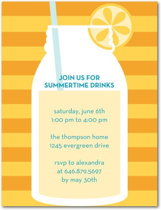 172 best party invitation wording images on pinterest invitation friday favorites summer party invitations httppartyinvitationwording stopboris Gallery