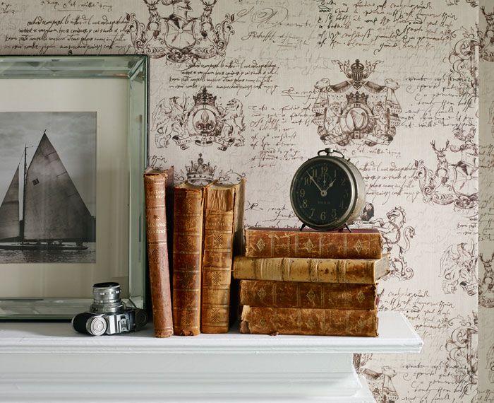 Memento Wallpaper Range | Linwood Fabrics