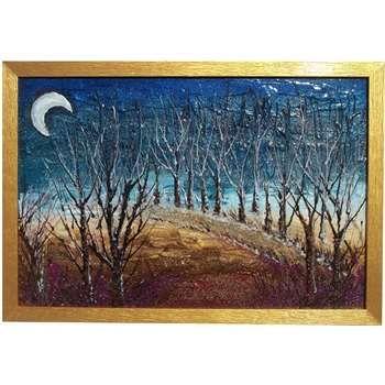 Quadri paesaggi astratti bosco notturno astratto for Quadri semplici
