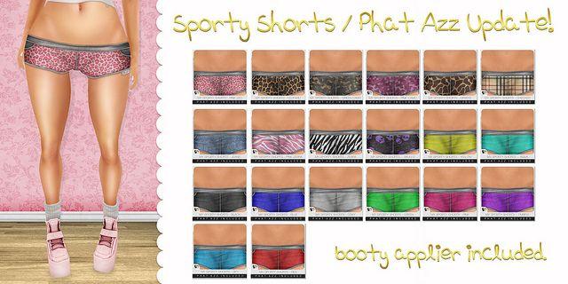 Sporty Shorts - Phat Azz Update ♥   Flickr - Photo Sharing!