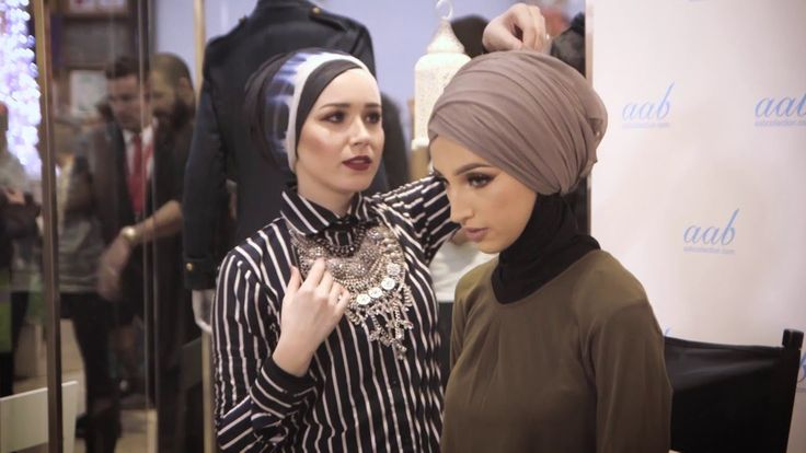 Live Hijab Tutorial and Style Tips with Nabiilabee - Turban Style - YouTube