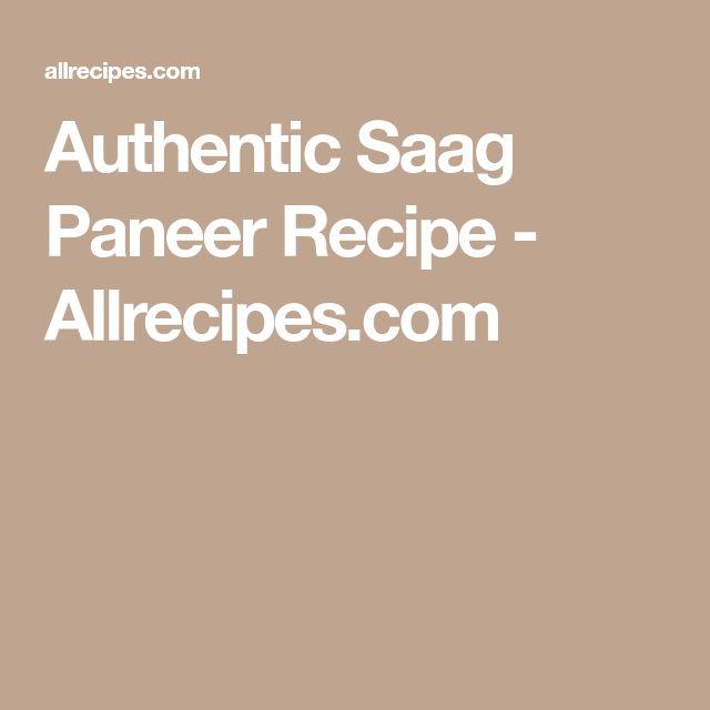 Authentic Saag Paneer Recipe - Allrecipes.com