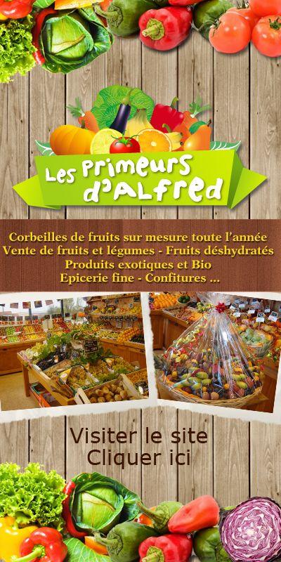 Les primeurs d'Alfred : Vente au détail de fruits et légumes, produits exotiques et Bio, épicerie fine : condiments, confitures, boisson, et livraison