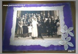 #Album  #di  #famiglia #Eumene & #Clara realizzato a mano con la tecnica dello  #scrapbooking - PAG 11