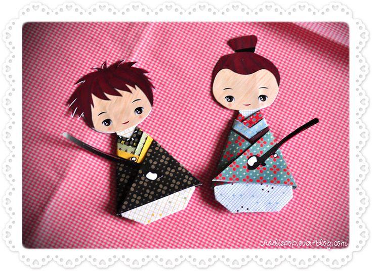 ACTIVITES - Des samouraïs de papier à imprimer