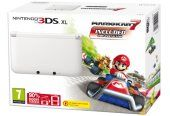 Nintendo Handheld Console 3DS XL –  White Limited Edition with Mario Kart 7 (Nintendo 3DS)