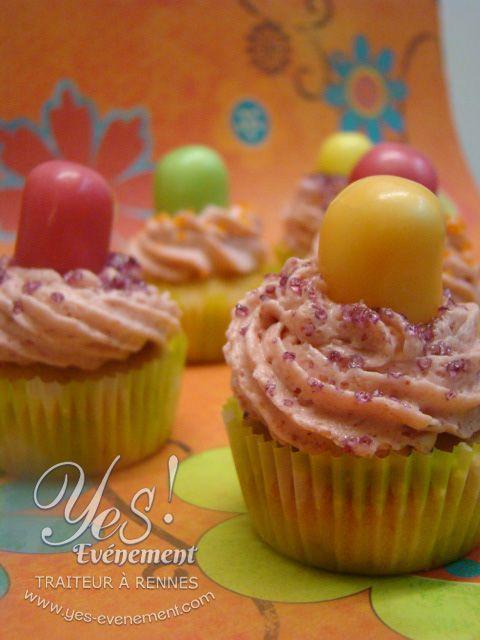Délicieux Cup-Cake sucrés et gourmand.