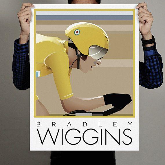 Bradley Wiggins of Great Britain Tour De by WilkinsonDigital, £49.00