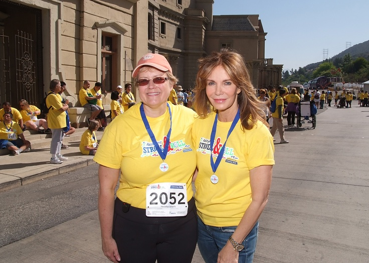 Jaclyn Smith and AbilityFirst CEO Lori Gangemi at AbilityFirst Stroll & Roll event. Thank you Jaclyn for your continued support