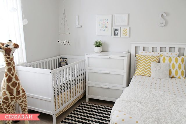 baby and toddle room sharing | Baby-and-toddler-room