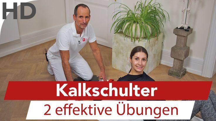 Kalkschulter – Übungen bei Schulterschmerzen, Schmerzen Schulter, Schult… Sandra Vollertsen