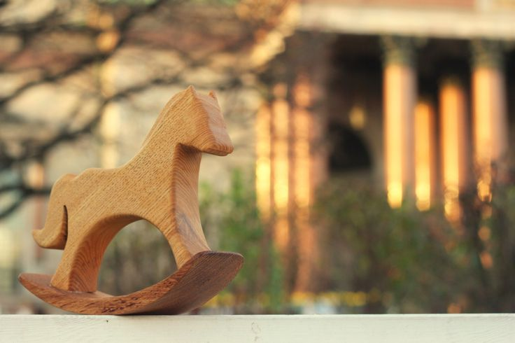Деревянная лошадь.   Wooden Horse by NisonovArt