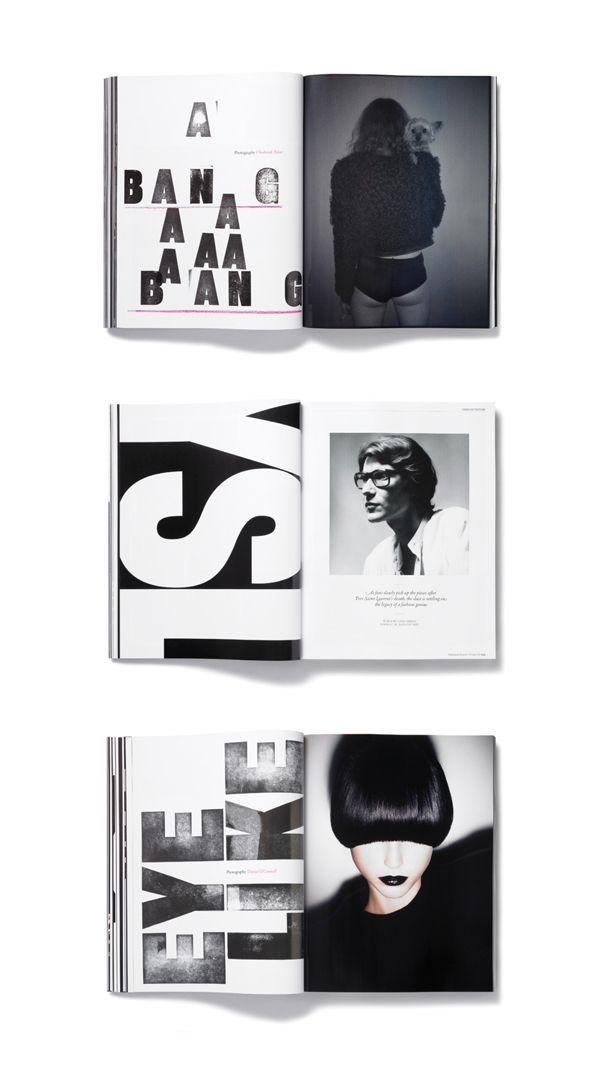 art direction of 'Plastique' magazine.