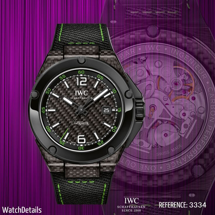 Read more Watches Ingenieur Automatic Carbon Performance Ceramic http://www.watchdetails.com/2015/02/watches-ingenieur-automatic-carbon.html