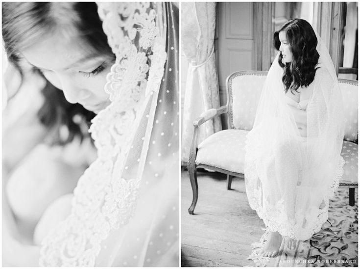 french chateau bridal boudoir